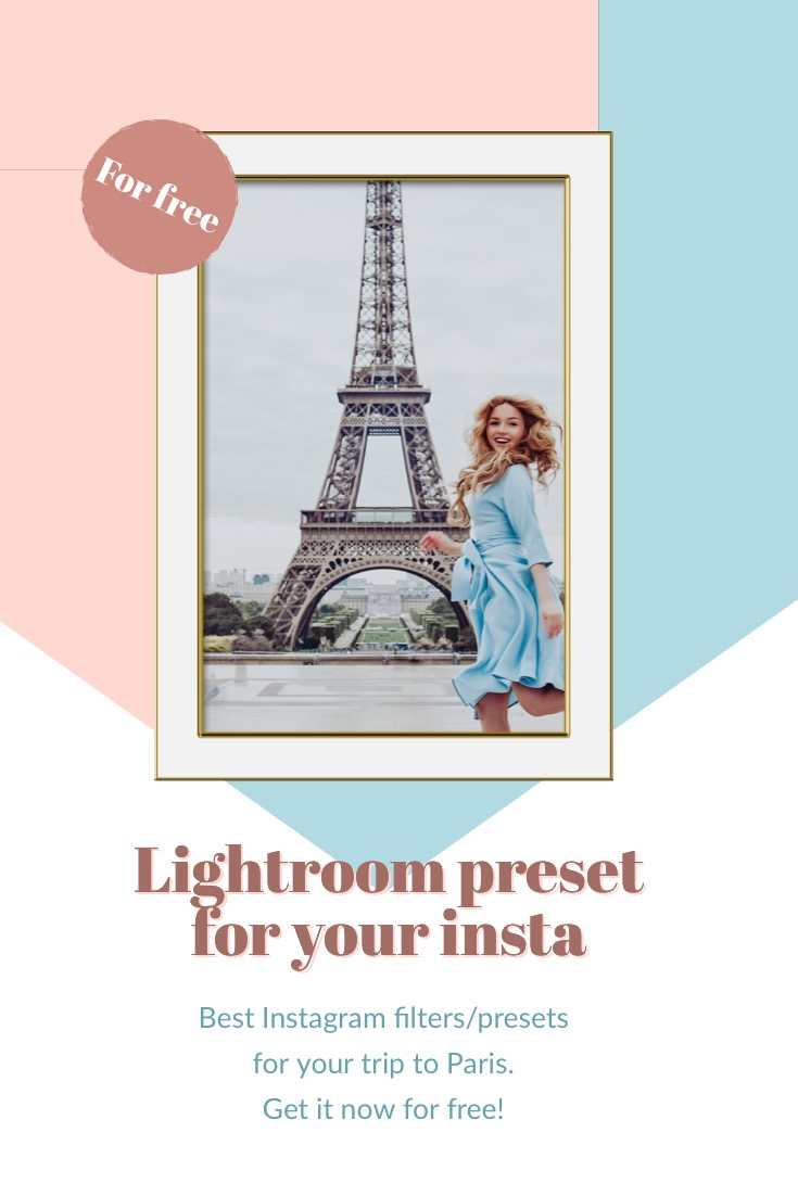 FREE Lightroom preset for your insta: Parisian moodWhyShy